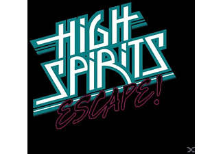 High Spirits - Escape (Silver Vinyl W Cardboard Cover) - (Vinyl)