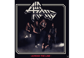 Air Raid - Across The Line (Transparent Blood-Red Vinyl) - (Vinyl)