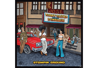 Tommy And The Painkillers Castro - Stompin' Ground - (CD)
