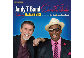 Andy T Band, Alabama Mike - Double Strike - (CD)