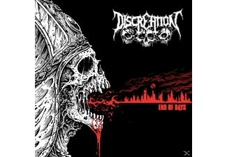 Discreation - End Of Days - (CD)