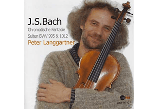 Peter Langgartner - Bach: Transkriptionen Für Viola - (CD)