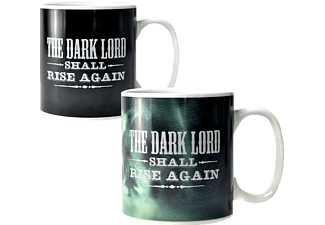 KLANGUNDKLEID.DE Harry Potter XL Thermoeffekt-Tasse The Dark Lord Tasse, Mehrfarbig