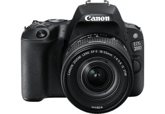 CANON EOS 200D fekete + 18-55 IS STM Kit