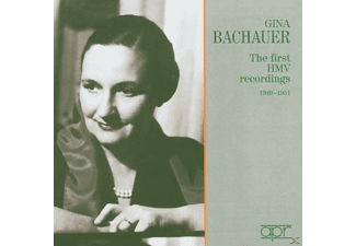 Gina Bachauer Piano, Gina Bachauer - The First HMV Rec.1949-51 - (CD)