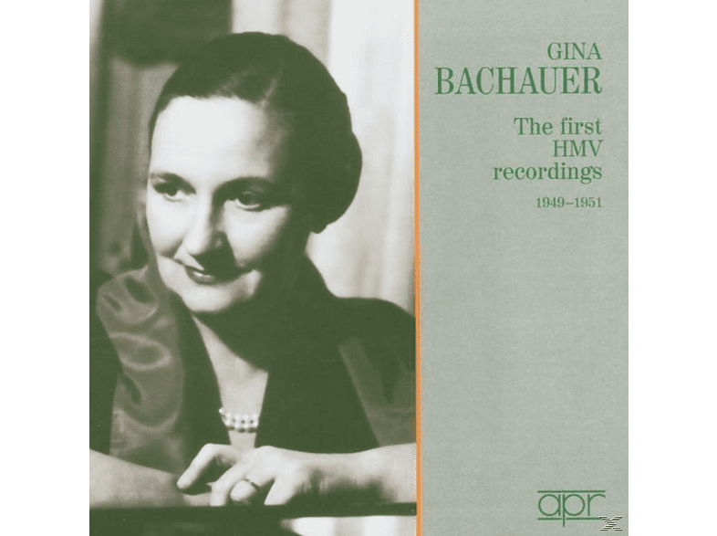 Gina Bachauer Piano, Gina Bachauer - The First HMV Rec.1949-51 [CD]