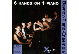 The Piano - 6 Hands On 1 Piano Vol.2 - (CD)