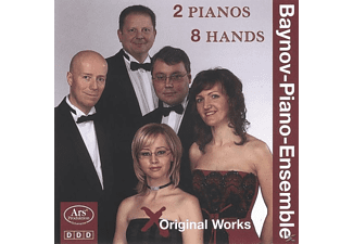 The Piano - 2 Pianos 8 Hands-Originalworks - (CD)