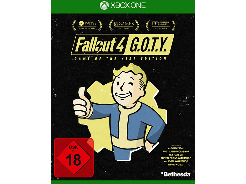 Fallout 4: Game of the Year Edition [Xbox One]