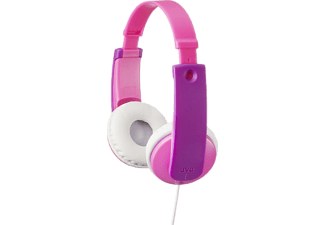 JVC Casque audio Over-ear Kids Rose (HA-KD7-P-E)