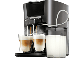 PHILIPS SENSEO® HD6574/50 Latte Duo Plus, Padmaschine, Anthrazit
