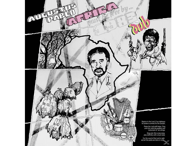 Augustus Pablo - Africa Must Be Free By 1983 Dub [Vinyl]