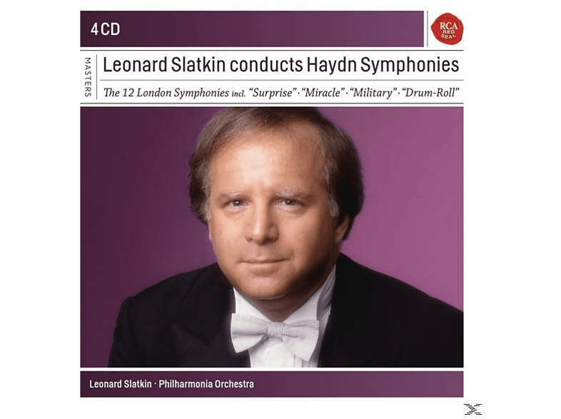 The Philharmonia Orchestra - Leonard Slatkin Conducts Haydn Symphonies [CD]