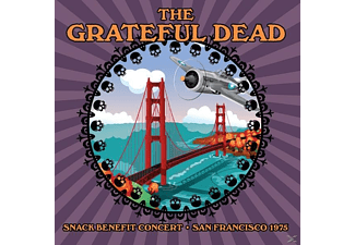 Grateful Dead - Snack Benefit Concert,San Francisco 1975 (Vinyl) - (Vinyl)
