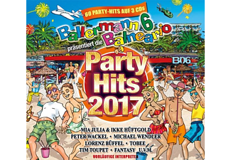 VARIOUS - Ballermann 6 Balneario Präs.Die Party Hits 2017 - (CD)