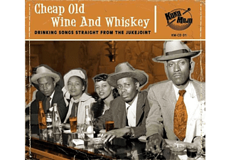 VARIOUS - Cheap Old Wine And Whiskey - (CD)