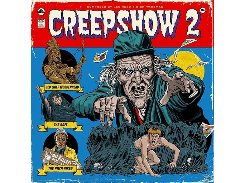 Les -& Rick Wakeman- Reed - Creepshow 2 (1987 Original Soundtrack) [Vinyl]