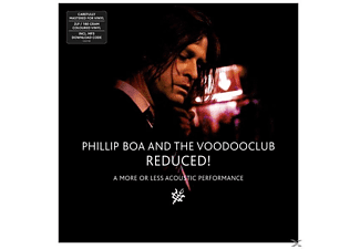 Phillip & The Voodooclub Boa - Reduced! (A More Or Less Acoustic Performance) - (LP + Download)