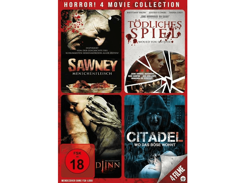 Horror! 4 Movie Collection [DVD]