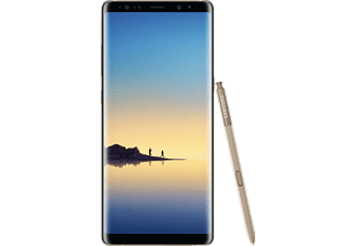 SAMSUNG Galaxy Note8, Smartphone, 64 GB, Maple Gold