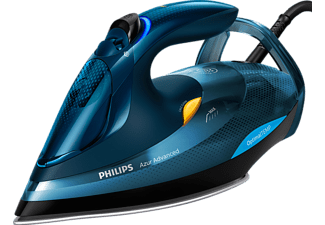 PHILIPS GC4937/20 Azur Advanced, Dampfbügeleisen, 3000 Watt, Blau