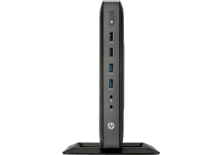 HP t620 Flexible Thin Client Desktop PC, Schwarz