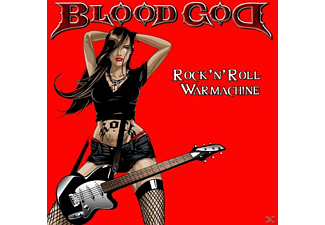 Blood God - Rock'n'Roll Warmachine - (CD)
