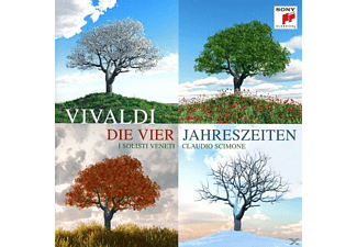 Members Of The Orchestre National De France, I Solisti Veneti - Meisterwerke: Vivaldi-Die vier Jahreszeiten - (CD)