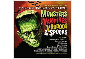 VARIOUS - Monsters Vampires Voodoos & Spooks - (CD)