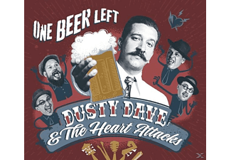 Dusty Dave, Heartattacks - One Beer Left - (CD)