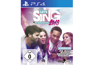 Let's Sing 2018 mit Deutschen Hits + 2 Mics [PlayStation 4]