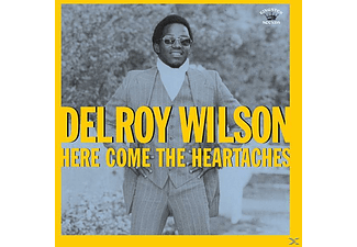 Delroy Wilson - Here Come The Heartaches - (CD)