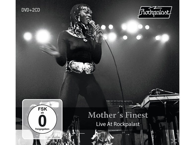 Mother's Finest - Live At Rockpalast [CD + DVD Video]