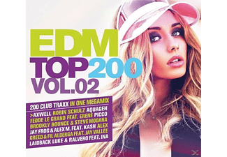 VARIOUS - Edm Top 200 Vol.2 - (CD)