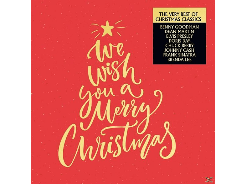 VARIOUS - We Wish You A Merry Christmas [CD]