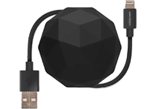 USBEPOWER USB-kabel Cosmo bal USB - microUSB 1 m Zwart (USBE_COSMO_M_BLK)