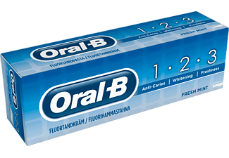 ORAL-B 1-2-3 75 ml Tandkräm