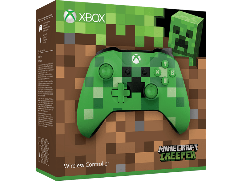 MICROSOFT Minecraft Creeper SE Xbox One Wireless Controller - Minecraft ahnliche spiele fur xbox 360
