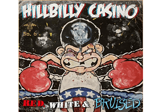 Hillbilly Casino - Red,White & Bruised - (CD)