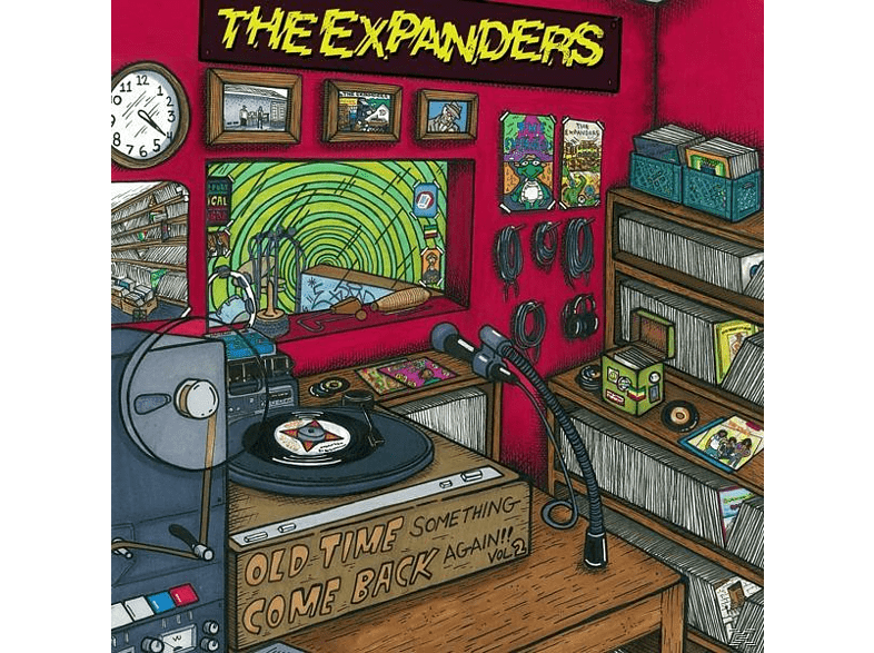 Expanders - Old Time Something Come Back Again Vol.2 (LP+MP3) [LP + Download]