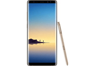 SAMSUNG Smartphone Galaxy Note8 64 GB Dual SIM Maple Gold (SM-N950FZDDLUX)
