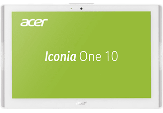 ACER Tablet Iconia One 10 B3-A40 16GB, weiß (NT.LDNEG.001)