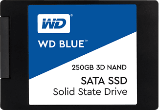WD Blue™ 3D, 250 GB SSD, 2.5 Zoll, intern