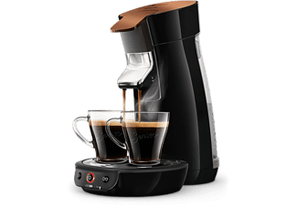 PHILIPS Senseo Viva Café - Black Copper (HD7836/90)