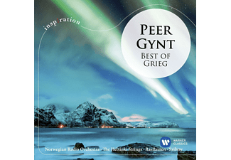 Norwegian Radio Orchestra, The Helsinki Strings, Ostrobothian Chamber Orchestra - Peer Gynt-Best of Grieg - (CD)