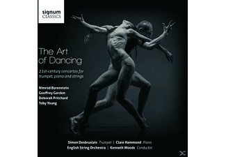 Simon Desbruslais, Clare Hammond, English String Orchestra - The Art of Dancing-Trompetenkonzerte des 21.Jh. - (CD)