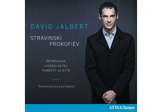 David Jalbert - Piano Transcriptions-Pétrouchka & L'Oiseau De - (CD)