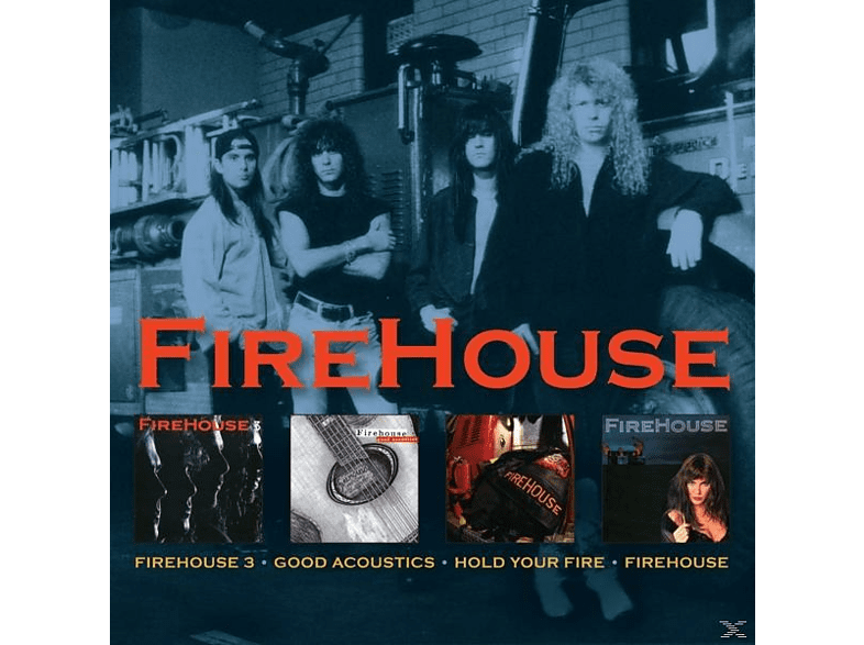 Firehouse - 3/Good Acoustics/Hold Your Fire/Firehouse [CD]