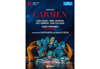 VARIOUS, Bregenz Festival Choir, Prague Philharmonic Choir, Children's Choir of Musikmittelschule Bregenz-Stadt, Wiener Symphoniker - Carmen - (DVD)