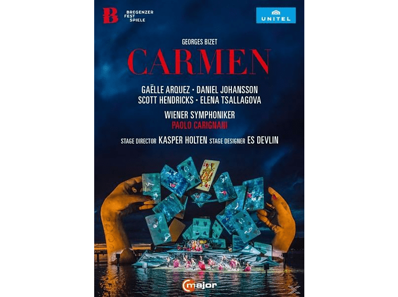 VARIOUS, Bregenz Festival Choir, Prague Philharmonic Choir, Children's Choir of Musikmittelschule Bregenz-Stadt, Wiener Symphoniker - Carmen [DVD]